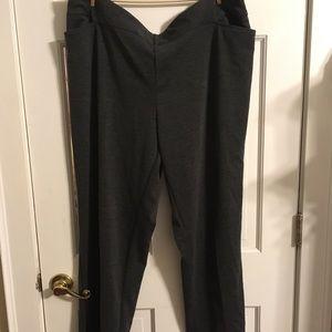 Avenue Grey Pants